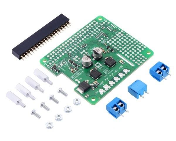 Dual TB9051FTG Motortreiber für Raspberry Pi (Bausatz)