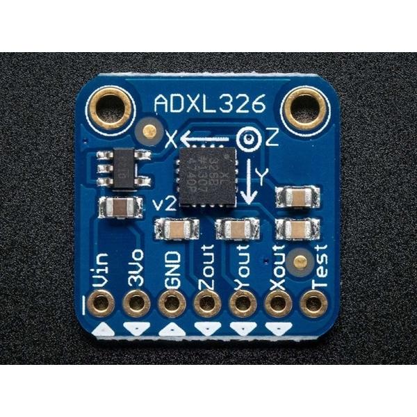 Adafruit ADXL326 - 5V ready 3-Achsen Beschleunigungssensor (+-16g analog out)