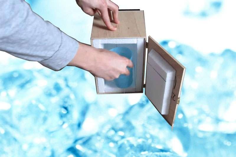 Mini Kühlschrank Für Getränke : Projekte von makern mini kühlschrank selber bauen exp tech